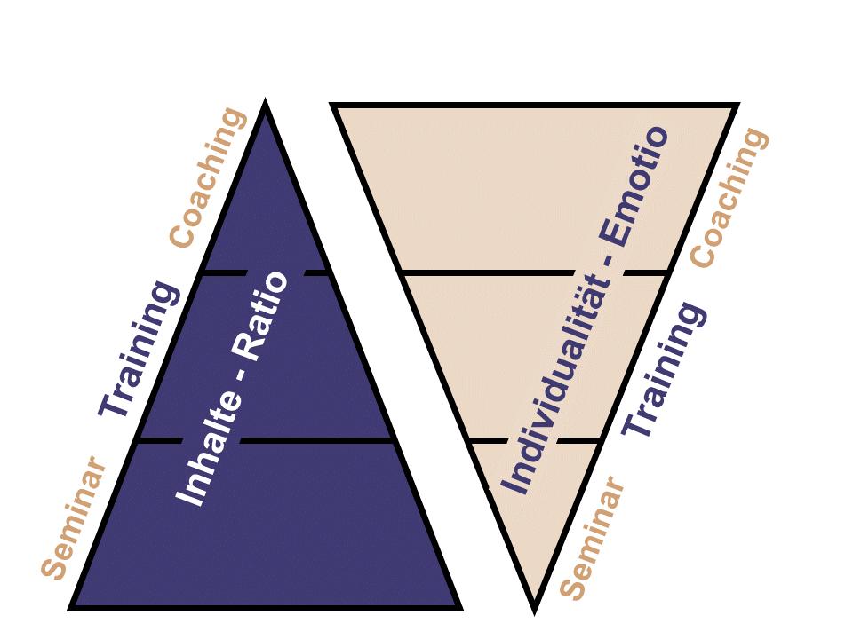 Rudolf Eckmüller Consulting - Methodenpyramide